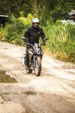 SYM NH T 125 test motocykla 46