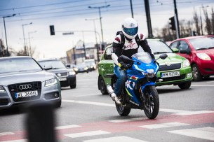 Suzuki GSX R 125 test motocykla Barry 11