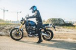 Triumph Scrambler 1200 XE Barry burnout