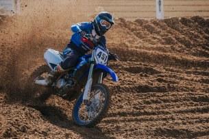 Yamaha YZ test 10