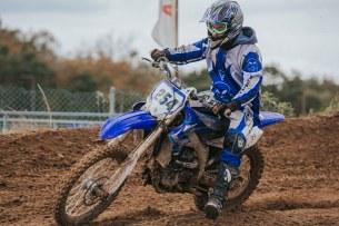 Yamaha YZ test 14