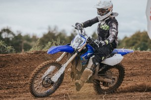 Yamaha YZ test 15