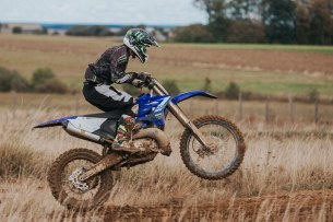 Yamaha YZ test 31