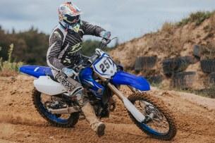 Yamaha YZ test 32