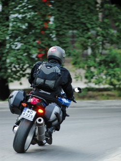 BMWK1200R na ulicy