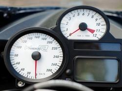BMW 1200RSport zegary