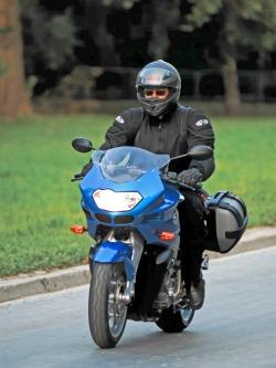 BMW K1200R Sport na drodze