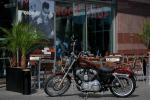 Warszawa Hard Rock Cafe motocykl