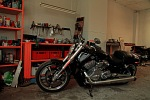garage inc Harley Davidson V Rod Muscle