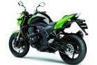 zielone Kawasaki Z750R
