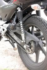 Honda CBF125 tylne zawieszenie