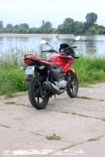 Honda CBF 125 maly turystyk