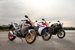 Honda CBR125 2011 kolorystyka