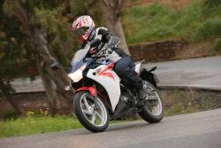 na trasie Honda CBR250R 2011