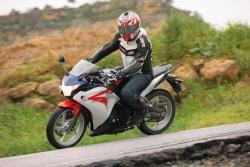 w ruchu Honda CBR250R 2011