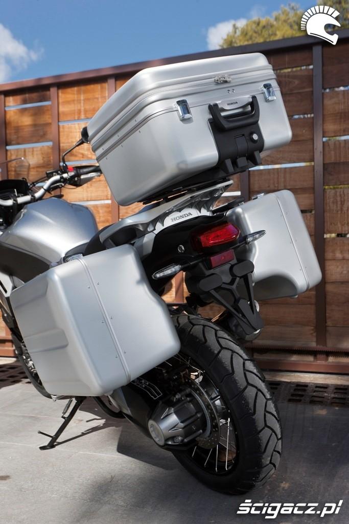 Kufry Honda CrossTourer 2012