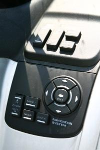 Honda Gold Wing GL1800 kontrola nawigacji