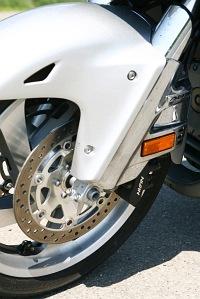 Honda Gold Wing GL1800 przednie zawieszenie