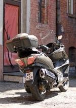 Honda SWT600 tyl