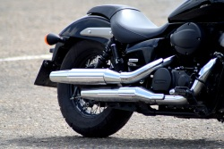 Honda Shadow Black Spirit wydechy