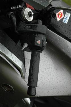 Honda VFR1200F DCT brak dzwigni sprzegla