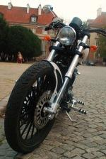 Junak M16 bialo-czarny