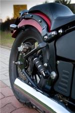 muskularny zadupek zawieszenie pod motocyklem M16