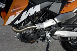 KTM 690 SMC silnik lewa