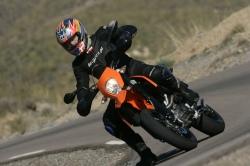 test KTM 690 SMC Montero