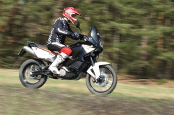 KTM LC8 Adventure R asfalt