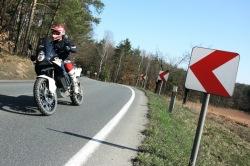 KTM LC8 Adventure R boczne drogi