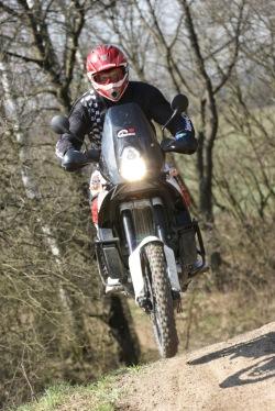 KTM LC8 Adventure R hopka