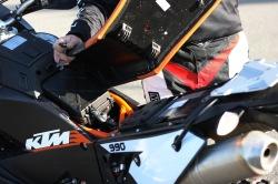 KTM LC8 Adventure R siedzenie