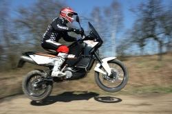 KTM LC8 Adventure R skok
