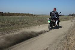KTM LC8 Adventure R start