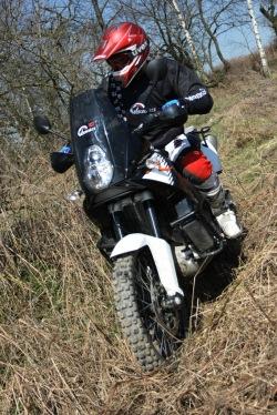KTM LC8 Adventure R teren