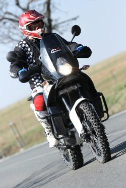 KTM LC8 Adventure R trasa