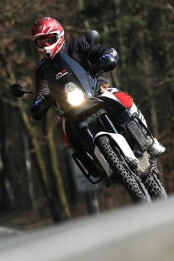 KTM LC8 Adventure R w trasie