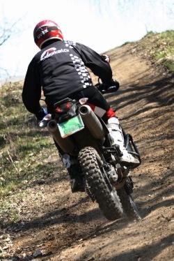 KTM LC8 Adventure R wyskok