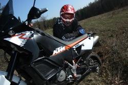 KTM LC8 Adventure R zakopywacz