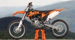2013 ktm sxf 250 nowy model z boku
