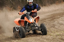 Grochowski Marcin test KTM XC 525