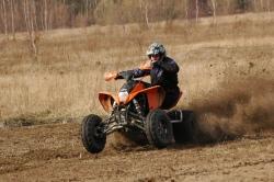 KTM XC 525 Marcin Grochowski ostra jazda