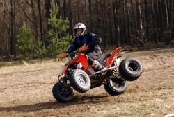 freestyle quad KTM XC 525 Marcin Grochowski