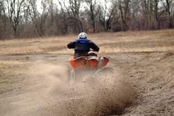 test quada KTM XC 525 zawody quadowe