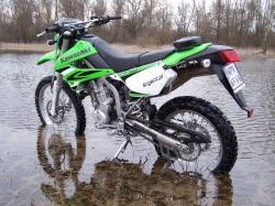 KLX250 w wodzie