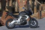 Kawasaki Versys 2010 czarny prawy bok