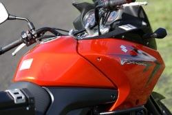 centrum motocykla Suzuki DL650 test