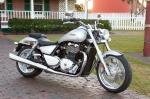 Triumph Thunderbird srebrny