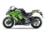 Kawasaki Z1000SX lewy profil